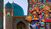 El clásico Uzbekistán