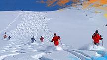 Хели ски в Кыргызстане