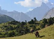 Пик Аксу (5355 м)