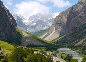 Flusstal Orto-Chashma, Pamir-Alai