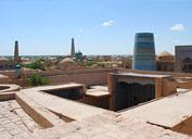 Panorama of Khiva, Uzbekistan