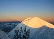 Sunrise in Pamir