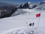Itinerary to the Camp 2. Lenin Peak