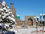 Place Reguistan. Samarkand, Ouzbékistan