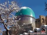 Necrópolis Shakhi-Zinda. Samarkanda, Uzbekistán