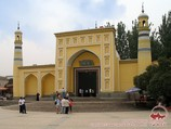 Ид Ках (Айтига) - самая большая мечеть в Кашгаре