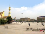 Plaza central de Kashgar
