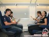Afrosiab train - Economy class
