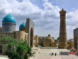 Минарет Калян и медресе Мири-Араб   (XVIII в.). Бухара, Узбекистан