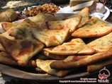 збеская самса.   Узбекская национальная кухня