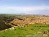 Paisaje de Baysun. Uzbekistán, Asia Central