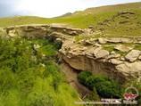 Gorge Omonkhona. Ville de Baysoun, Ouzbékistan