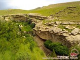 Gorge Omonkhona. Baysun Town, Uzbekistan