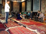 Carpet weaving in Uzbekistan
