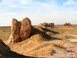 Forteresse Qirq-Qiz-Qala. Khorezm, Ouzbékistan
