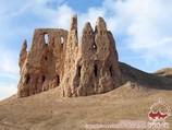Fortaleza Kirk-Kiz-Kala. Khorezm, Uzbekistán