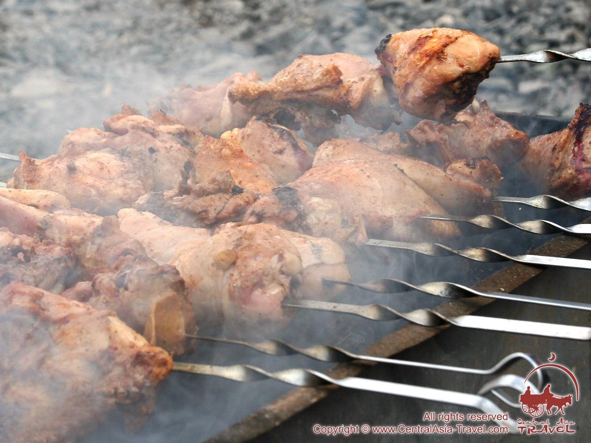 Шашлык в кефире из свинины рецепт пошагово в
