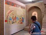 """Afrasiab"" Museum in Samarkand. Samarkand, Uzbekistan"