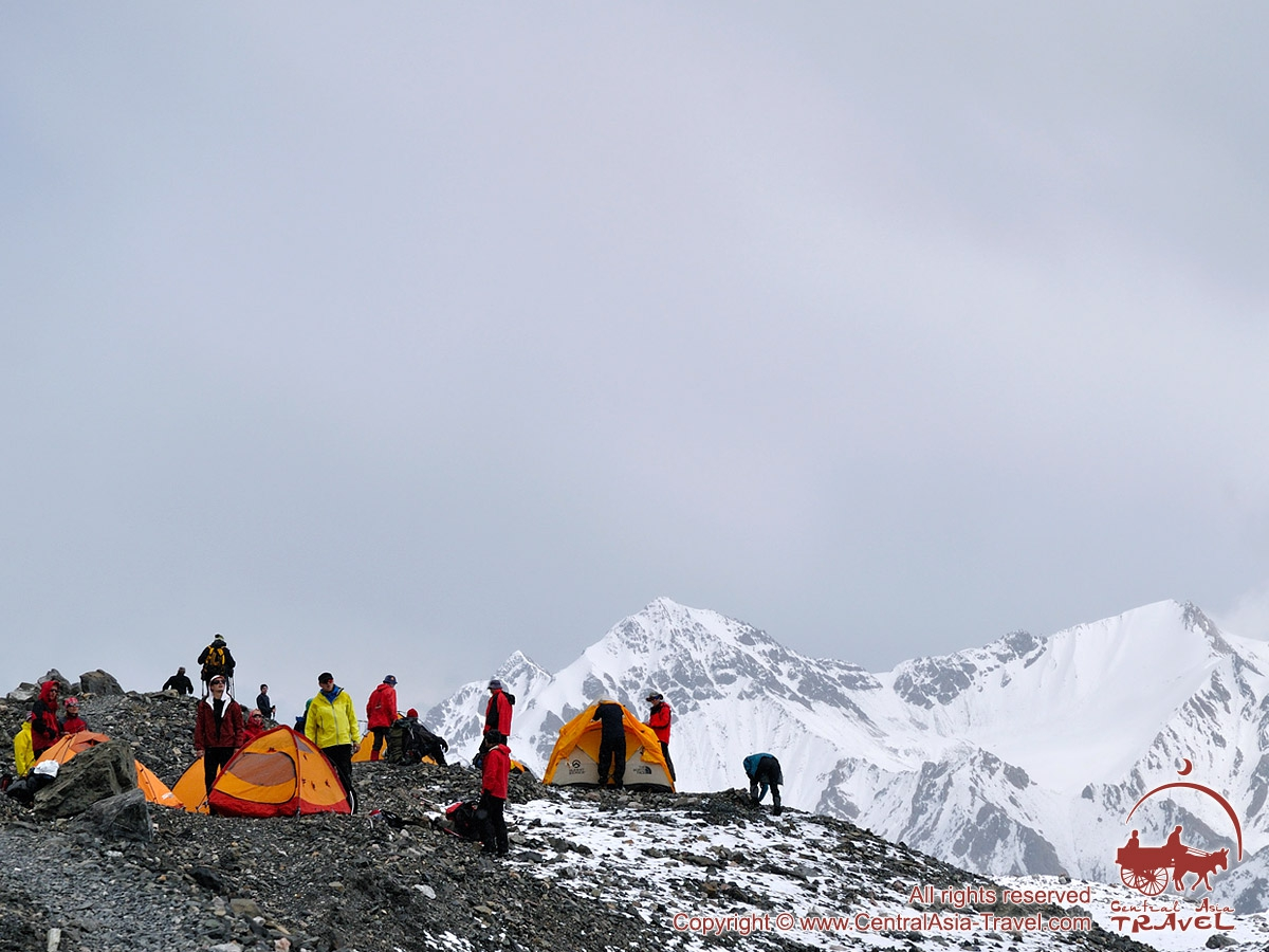 Expedition to Lenin Peak (7134 m), Pamir, Kyrgyzstan