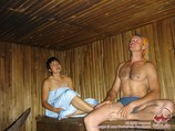 Sauna at base camp