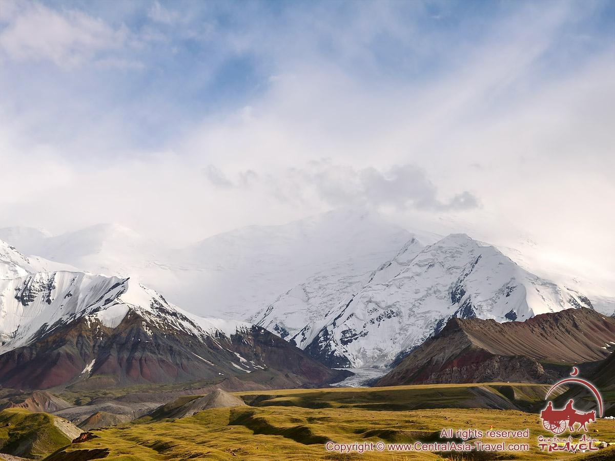 Clairière Loukovaya. Pic Lénine, Pamir, Kirghizstan