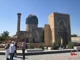 Мавзолей Гур-Эмир (усыпальница Амира Тимура XIV-XV вв.). Самарканд, Узбекистан