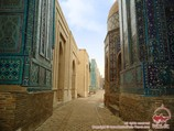 Complejo Shakhi-Zinda. Samarkanda, Uzbekistán
