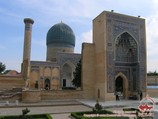 Mausoleo Gur-Emir (XIV-XV ss.). Samarkanda, Uzbekistán