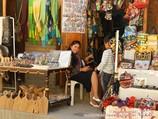 Tienda de artesanía. Uzbekistán
