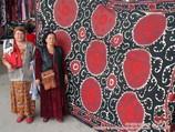Suzani. Art décoratif de l'Ouzbékistan