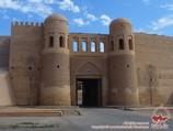 Ота-Дарвоза (главные ворота). Ичан-Кала, Хива, Узбекистан