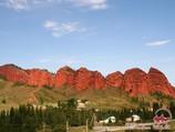 Ущелье Джеты-Огуз. Иссык-Куль, Кыргызстан