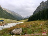 Heiße Quelle Altyn-Araschan