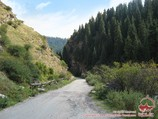 Ущелье Ак-Суу. Баткенский район Ошской области, Кыргызстан