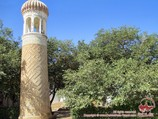 Mausoleo Rukhabad. Samarkanda, Uzbekistán