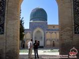Gur-e Amir Mausoleum. Uzbekistan, Samarkand