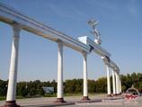 Арка Эзгулик (площадь Независимости). Ташкент, Узбекистан