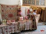 Сюзане (вышитый вручную декоративный текстиль). Декоративное искусство Узбекистана