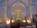 Внутренняя часть медресе Тилля-Кори (XVI в.). Самарканд, Узбекистан