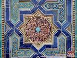 Орнамент мавзолея Шахи-Зинда (XIV в.). Самарканд, Узбекистан