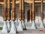 Мемориальный комплекс Имама Исмаила Аль-Бухари. Самарканд, Узбекистан