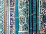 Орнаменты комплекса Шахи-Зинда (XIV в.). Самарканд, Узбекистан