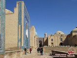 Ансамбль Шахи-Зинда (XIV в.). Самарканд, Узбекистан