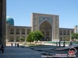 Медресе Тилля-Кори (площадь Регистан). Самарканд, Узбекистан