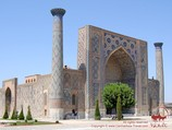 Медресе Улугбека (площадь Регистан). Самарканд, Узбекистан