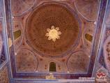 Внутренняя отделка мавзолея Гур-Эмир (усыпальница Амира Тимура XIV-XV вв.). Самарканд, Узбекистан