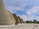 La fortaleza Ark. Bujara, Uzbekistán