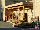 Boutique de souvenirs. Marchés de l'Ouzbékistan