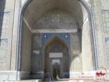 Mezquita Bibi-Khanum (s.s.XIV-XV). Samarkanda, Uzbekistán
