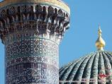 Мавзолей Гур-Эмир (усыпальница Амира Тимура - XV в.). Самарканд, Узбекистан